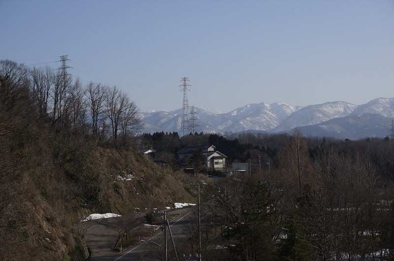 Hakusan Mt, from Tawara