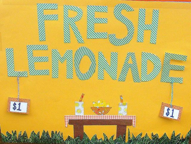 lemonade stand!