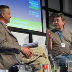 David Aaronovitch | David Aaronovitch on stage at Edinburgh International Book Festival