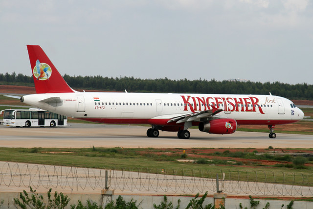 Kingfisher A321 VT-KFZ