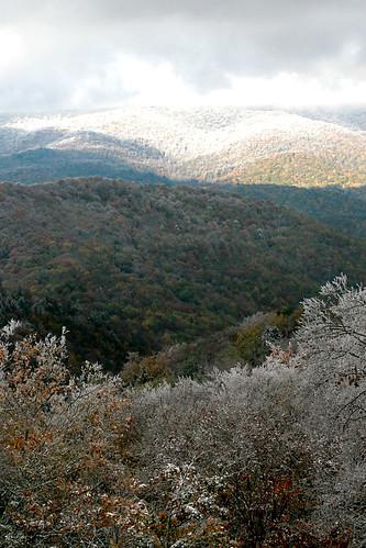 outdoors october northcarolina cherohalaskyway nantahalanationalforest hoarfrostcold