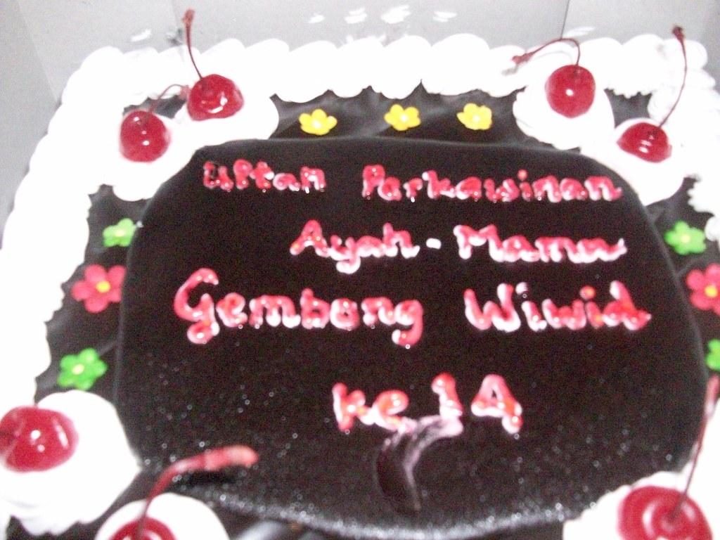 Kue Ultah Perkawinan Gembong Kusdaryanto Flickr