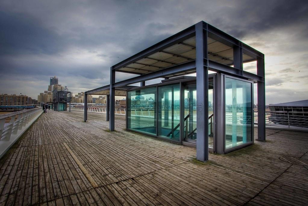 Scheveningen Pier before rain shower