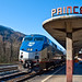 Amtrak's The Cardinal - Prince, WV by jpmueller99