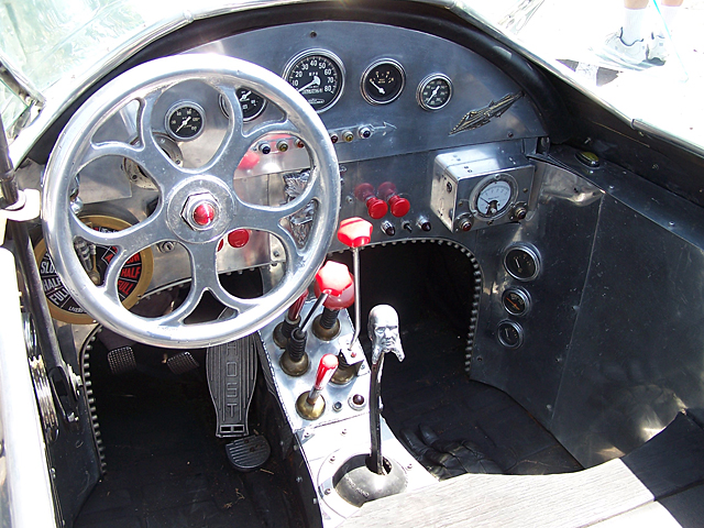 Rocket car interior