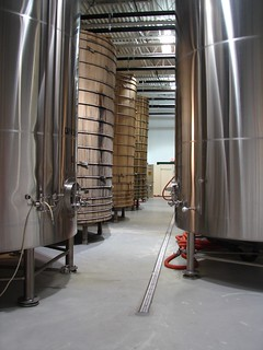 Dogfish Head Fermentation tanks | by beeriety