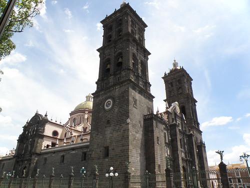 P8180272 Iglesia de Santo Domingo-Capilla del Rosario Puebla.,Puebla. Mexico por LAE Manuel Vela