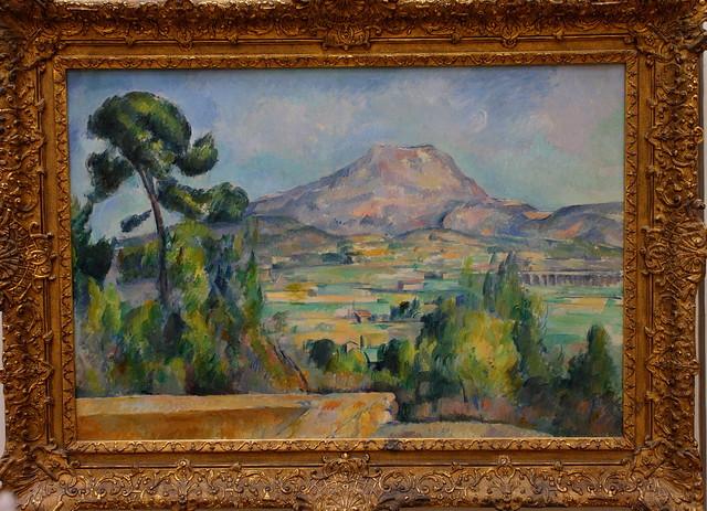 Paul CÉZANNE, Montagne Sainte-Victoire, vers 1890