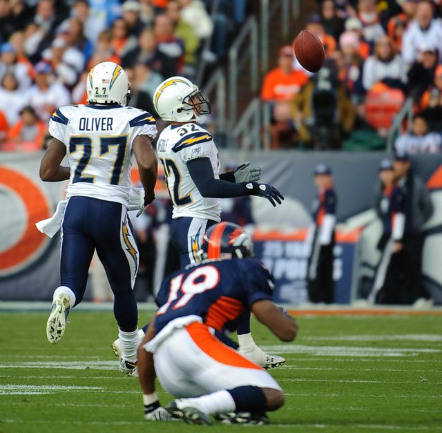 San Diego Chargers Broncos: San Diego Chargers At Denver Broncos
