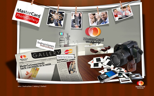 MasterCard Photo Gallery Developed for: PGAdvertising US