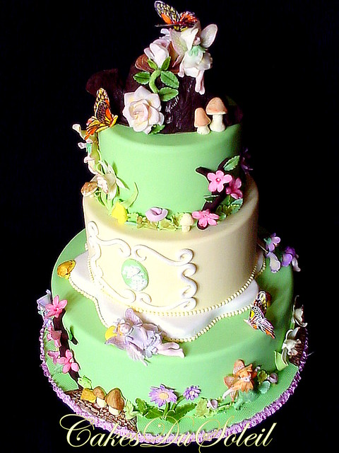Flower Fairies Cake
