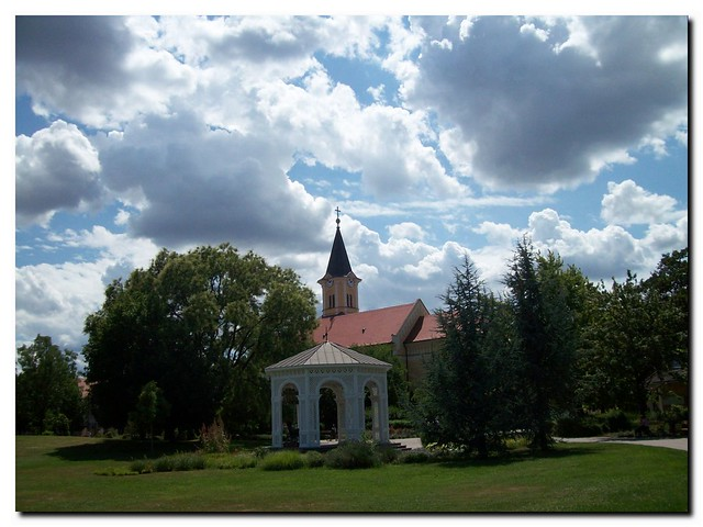 Church in the little town in Hungary