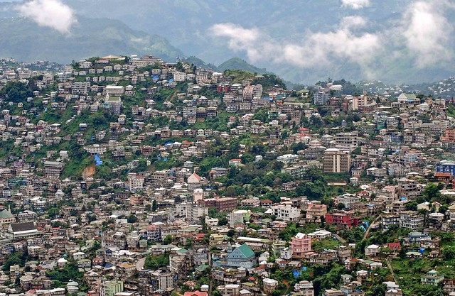Aizawl City.A great vibrant city with moderate and salubrious climate