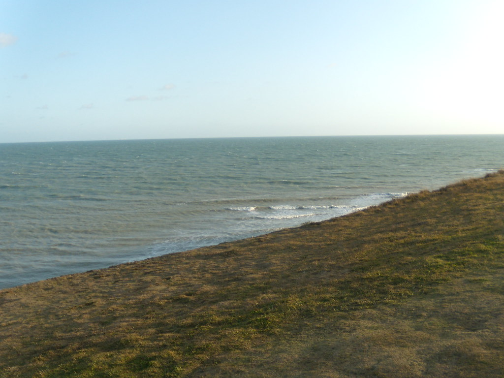 The sea Glynde to Seaford