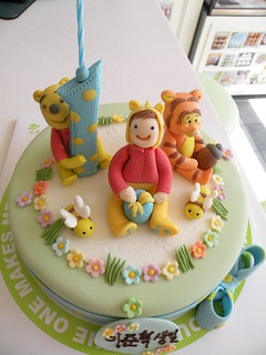 BBC Weenie the Pooh- 1st Birthday cake | by Cake Girl by Hyeyoung Kim