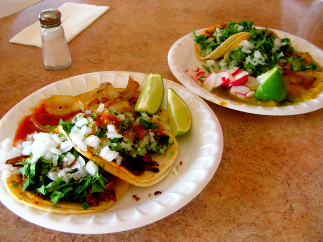 Tacos mexicanos. Santa Bárbara