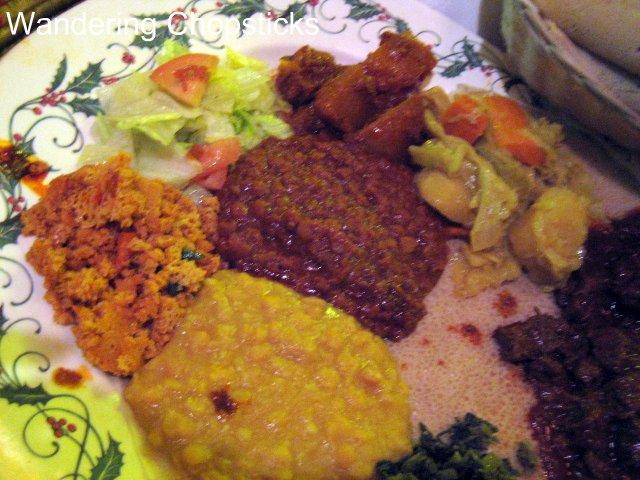 Messob Ethiopian Restaurant Los Angeles Little Ethiopia