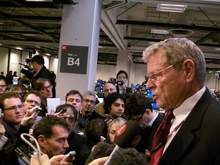 Senator Inhofe Precicts No Climate Bill | by Andy Revkin