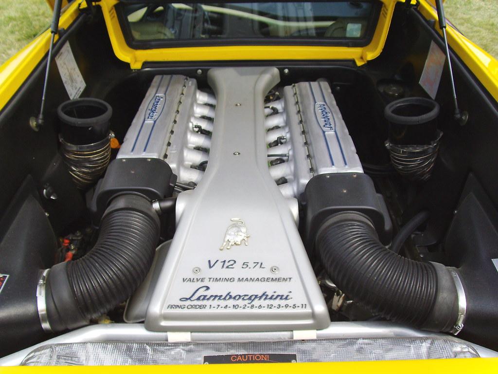 Lamborghini Diablo Sv Engine Tyi Photos Flickr