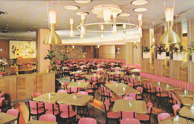 Clifton's Cafeteria - Interior, West Covina, California, 1968