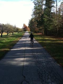 Sunday bike ride / iPhone test   by Willrad
