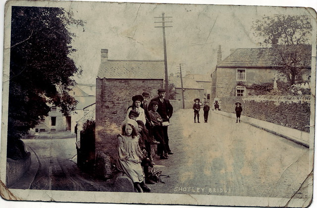 Shotley Bridge featuring the Wilson Boys c1905