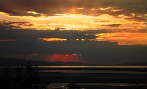 sunset usa sun lake america utah ut nikon highway great salt greatsaltlake interstate 80 americanwest route80 interstate80 d90 nikond90