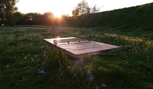 sunset table lumix pingpong tabletennis warsaw bemowo dmclx5