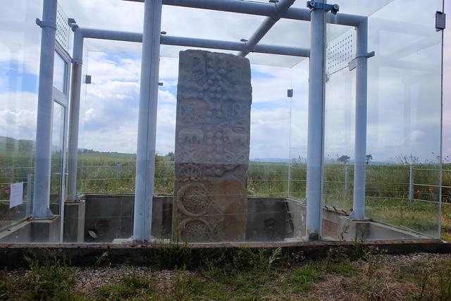 Pictish stone near Shandwick