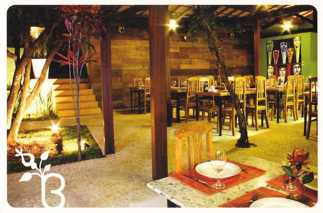 Botica Restaurant Ad Postcard