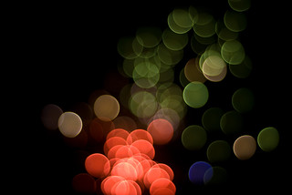 firework bokeh | by Logan Z. Hunt