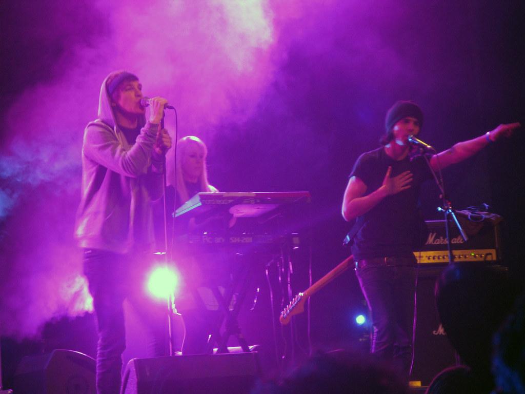 James Smith, Alice Spooner & Daniel Rice (Hadouken!)   Flickr