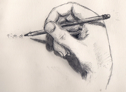 drawing hand | by cdaltonrowe
