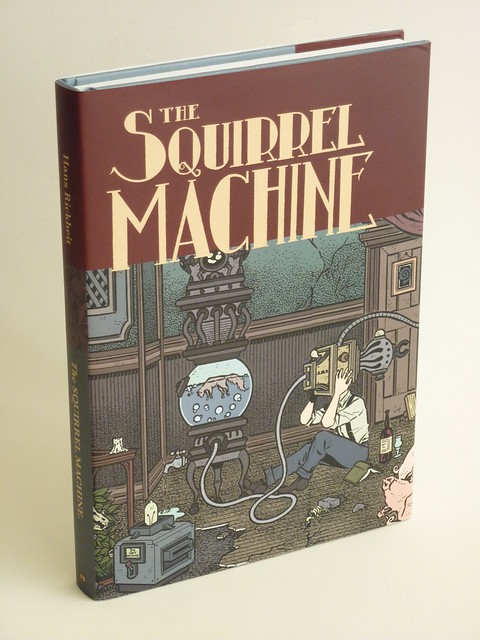 The Squirrel Machine by Hans Rickheit - front cover