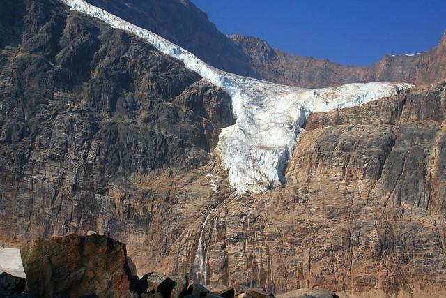 Angel Glacier at Mt. Edith Clavell, Jasper