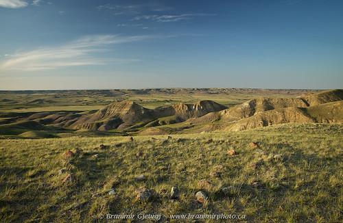 Teepee rings in Grasslands National Park | by Branimir Gjetvaj