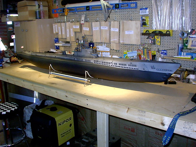 Engel Gato 1:48 RC Submarine | A built Gato that I want to s