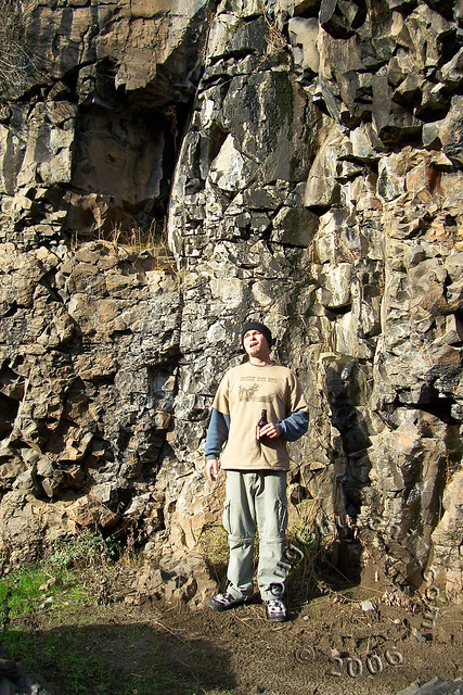 Shane on Yahi Trail