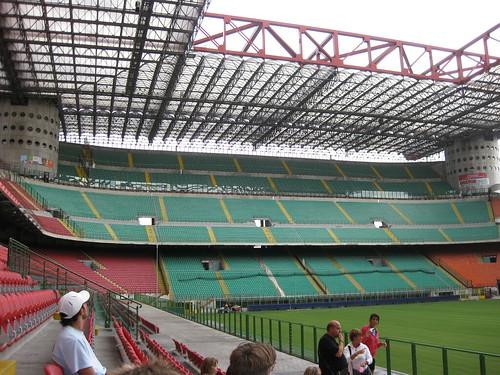 San Siro Stadium, Inter Milan end