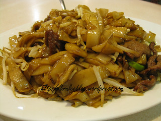 Double Greeting Won Ton House - beef chow fun | by bruleeblog