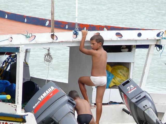 Niños de Robledal,Península de Macanao,Isla de Margarita,Estado Nueva Esparta,Venezuela