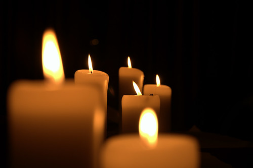 Candles | by L.C.Nøttaasen