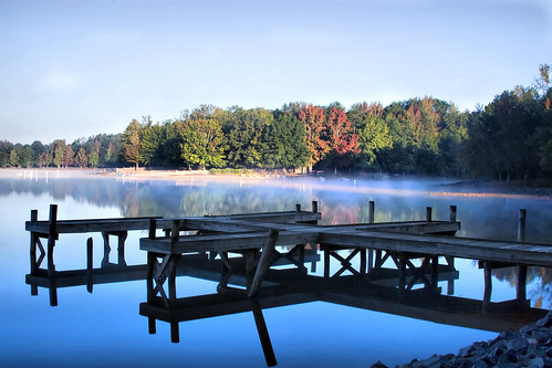 morning lake reflection fall water leaves sunrise nc foggy northcarolina foliage hero winner waxhaw canecreek canecreekpark ghholt storybookwinner