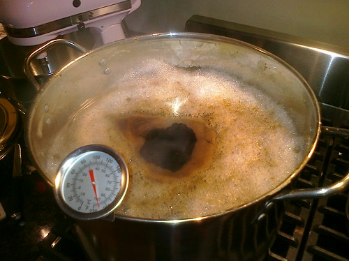 Homebrewing: Malt extract in the cauldron | by lmorchard