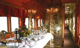 Private Rail Car - Virginia City - fine dining | by Train Chartering & Private Rail Cars