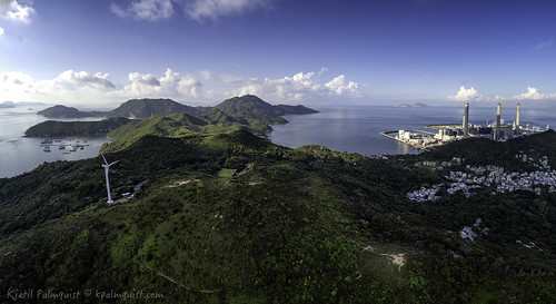 panorama landscape hongkong lamma lammaisland multirotor multicopter