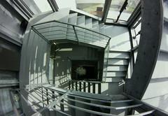 stairwell, Museum Kampa, Prague #fisheye