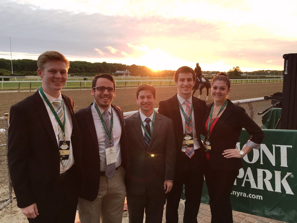 WRHU at Belmont Stakes