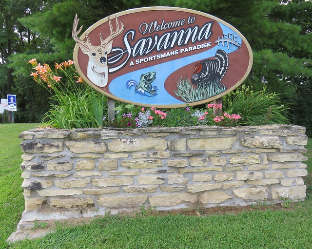 Welcome to Savanna Sign (Savanna, Illinois)
