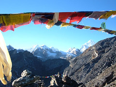 Tibetan Prayer Flags at Gokyo Rei | by everlutionary